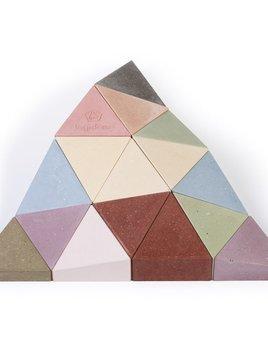 Longifaces The Original Set - 16 Piece Block Puzzle - Super Colour