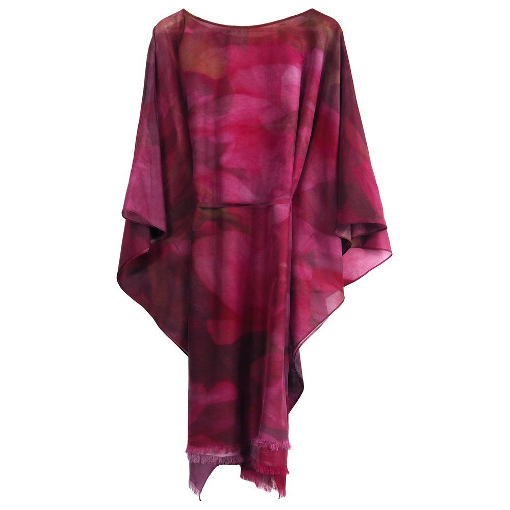 Phillip Ayers - Kaftan - Silk Cotton - Pink