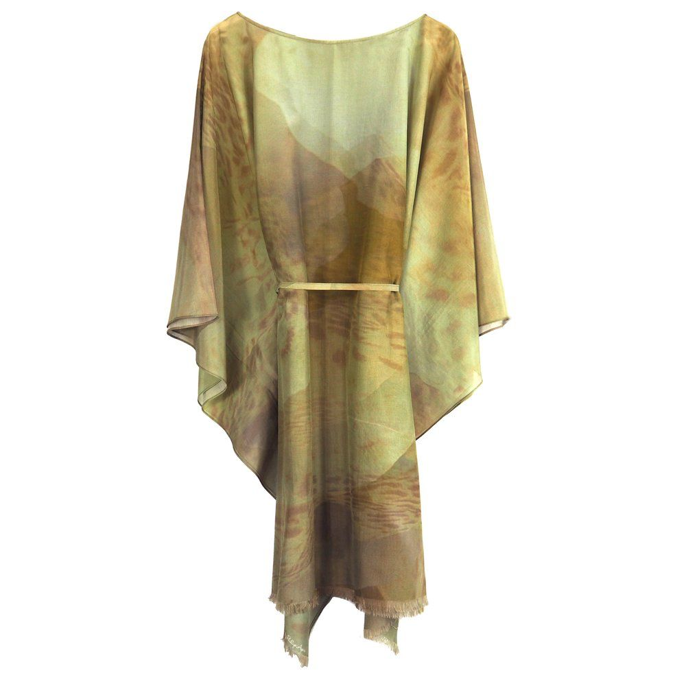 Phillip Ayers - Kaftan - Silk Cotton - Gold