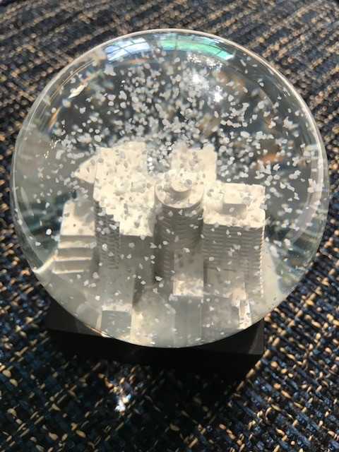 BECKER MINTY BECKER MINTY Handmade Potts Point Snow Globe