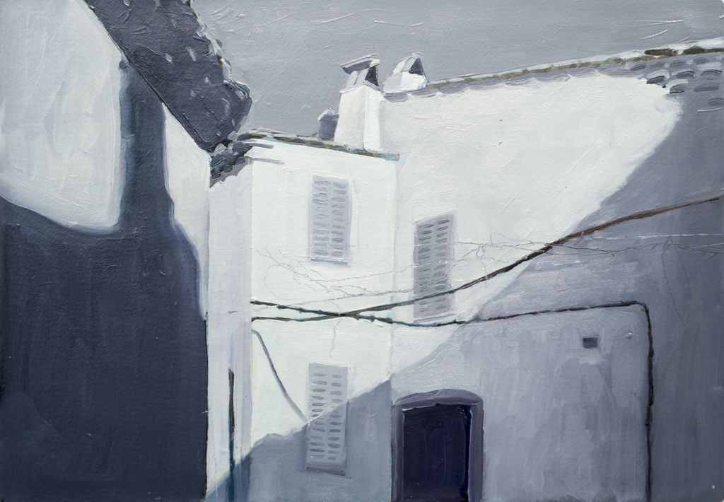 James King - Ramatuelle, France 2018 - 37x45cm Framed - Oil on Paper