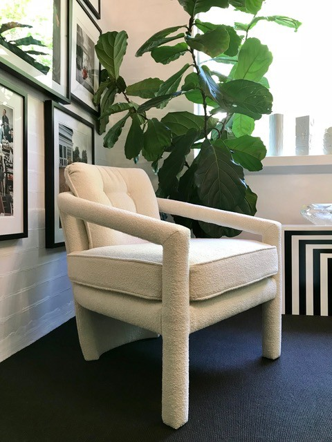 Dallas Occasional Chair - Buttoned - Various fabrics available