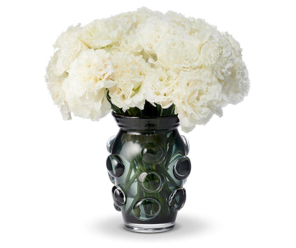 AERIN - Abel Vase - Large - Ink - H23cm