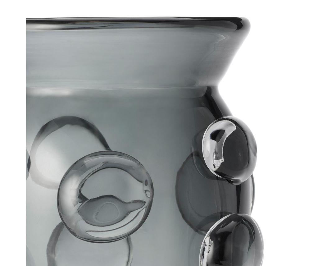 AERIN - Abel Vase - Small - Ink - H17cm
