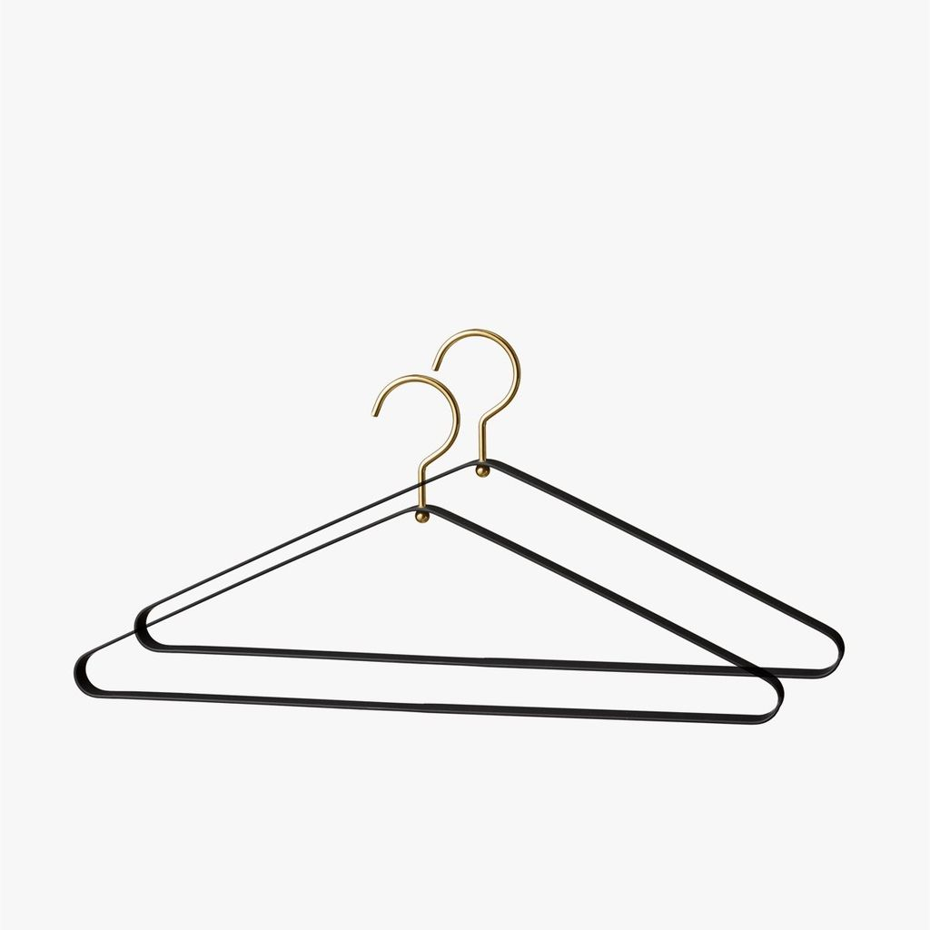 AYTM Vestis Hanger Set of Two 2 - Black Gold