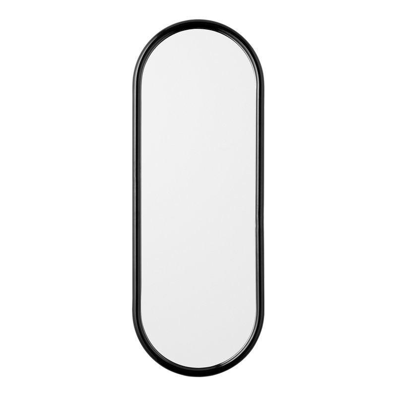 AYTM Angui Oval Mirror - Anthracite - H78xL29xW2cm