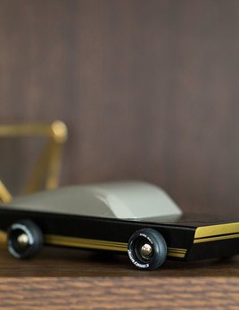 Until/See Concept Legend Toy Car - Heirloom wood toy car, inspired by 70s & 80s American design and car culture