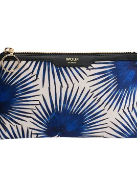 Until/See Concept Wouf - Pocket Clutch - Blue Palm