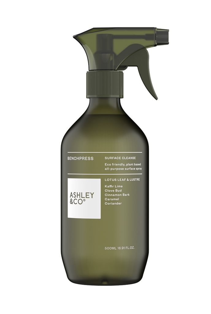 Ashley & Co Ashley & Co - Bench Press Surface Cleanse - Kaffir Lime, Clove Bud & Cinnamon Bark - 500ml - Made in New Zealand