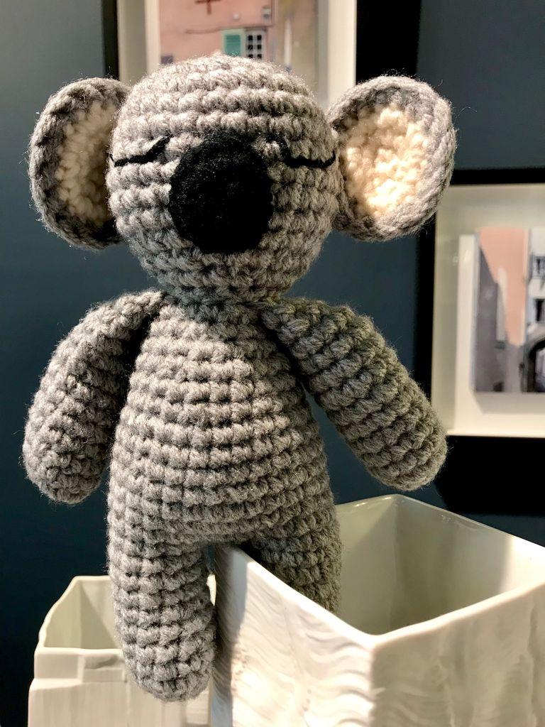 Yarnanimals Yarnanimals - Sleepy Koala - H20 - Hand Made in Tasmania
