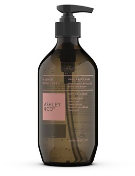 Ashley & Co Ashley & Co - Peppy & Lucent Botanical Hand & Body Wash  - Ecocert Approved - 500ml - Made in New Zealand