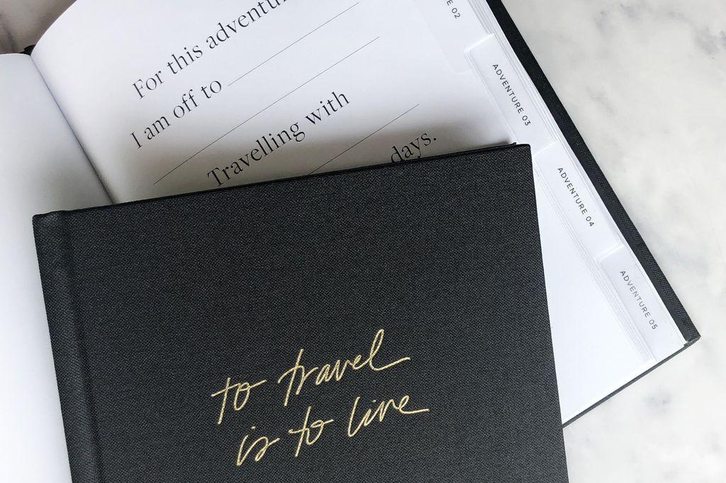 Blacklist Studio TO LIVE IS TO TRAVEL  - Travel Journal