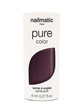 Until/See Concept Nailmatic - Pure Color Eco Friendly Nail Polish - Brune Deep Plum - Paris