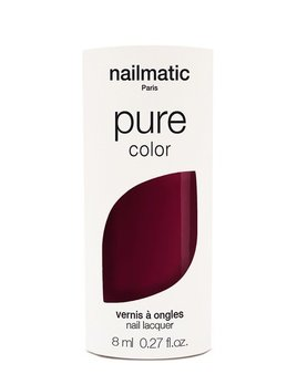 Until/See Concept Nailmatic - Pure Color Eco Friendly Nail Polish - Grace Deep Red - Paris