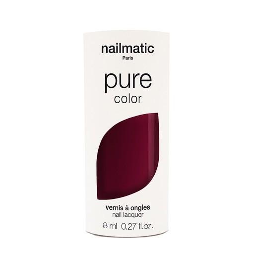 Until/See Concept Nailmatic - Pure Color Eco Friendly Nail Polish - Grace Deep Red - Paris