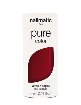 Until/See Concept Nailmatic - Pure Color Eco Friendly Nail Polish - Kate Burgundy - Paris