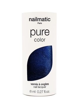 Until/See Concept Nailmatic - Pure Color Eco Friendly Nail Polish - Marnie Midnight Blue - Paris
