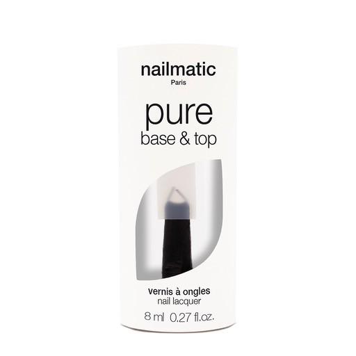Until/See Concept Nailmatic - Pure Color Eco Friendly Nail Polish - Top / Base Coat - Paris