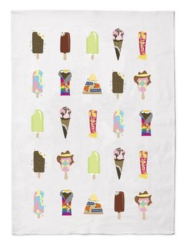 Make me Iconic Iconic Melt Tea Towel - 50% Linen 50% Cotton