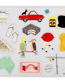 Make me Iconic Favs Aussie Magnet Set