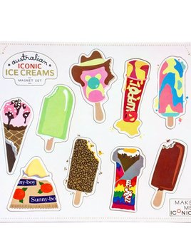 Make me Iconic Icecream Magnet Set