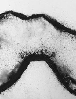Thomas Bucich - Nude / Landscape III - Charcoal, Pencil on Paper - Unframed   76H x 56W