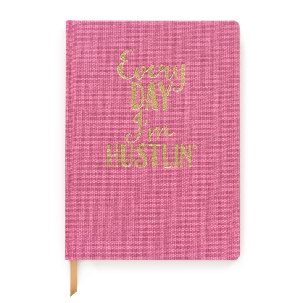 Curated House Every Day i'm Hustlin' Notebook - USA