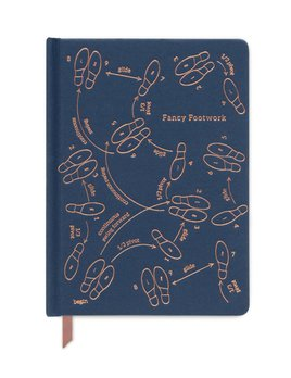 Curated House Fancy Footwork Notebook - USA
