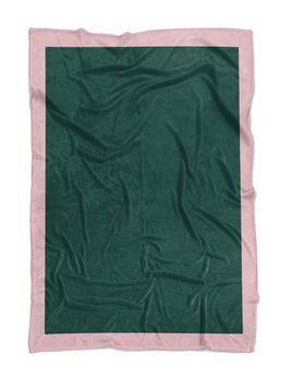 DEAREST The Melbourne Throwel - Dog Blanket / Throw - Quick Drying, Lightweight, Compact and Sand Resistant - Green - Small - 100x80cm