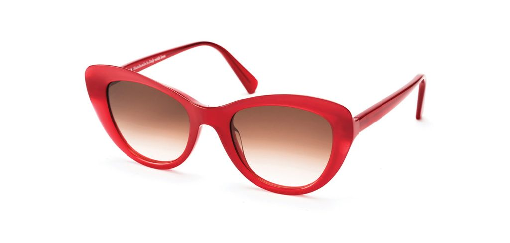 Proper Goods Res / Rei Sunglasses - Canova Ruby - Acetate - Handmade in Italy