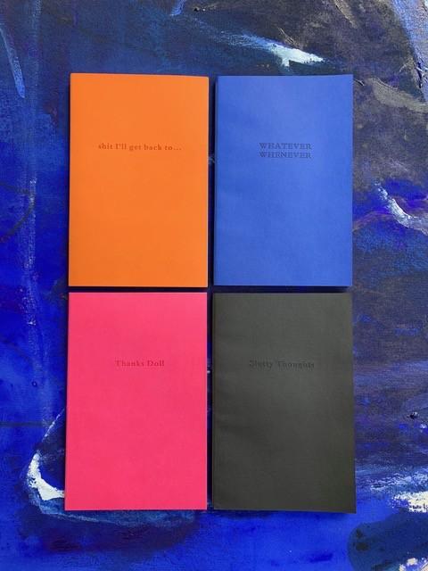BECKER MINTY Slutty Thoughts - Black BECKER MINTY Notebook / Journal - A5