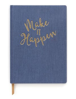 Curated House Make It Happen XL Notebook  - USA
