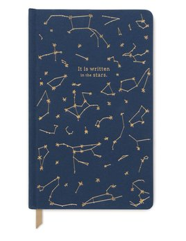 Curated House Constellations It is Wriiten in the Stars Notebook - USA