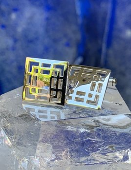 Rick Southwick - Sterling Silver Squares Cufflinks - Handcrafted in Australia