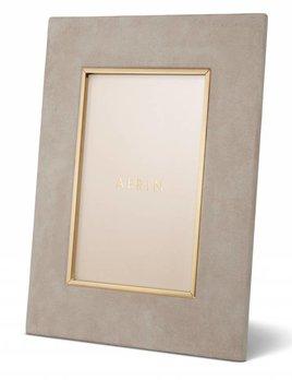 """Aerin AERIN - Valentina Suede Frame - 4x6"""" - Dune"""