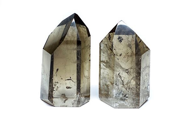BECKER MINTY Smokey Quartz Point - H15cm approx