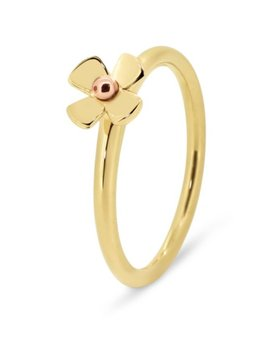 Rick Southwick - La Bella 18ct Yellow Gold Flower Ring - Handcrafted in Australia