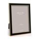 Addison Ross Addison Ross - Enamel Photo Frame - 4x6 - Black/Gold