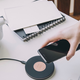 Until/See Concept Kreafunk - Wicharge - Wireless charger suited to Qi enabled devices - Black
