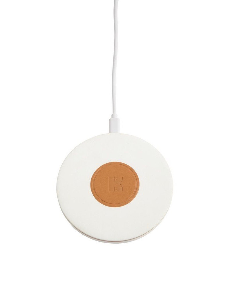 Until/See Concept Kreafunk - Wicharge - Wireless charger suited to Qi enabled devices - White