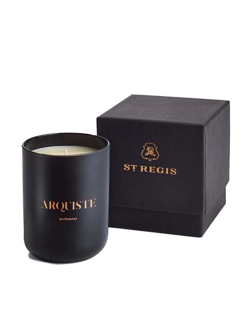 Arquiste Caroline's Four Hundred Luxury Candle by ARQUISTE Parfumeur for St Regis