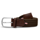 Until/See Concept LA Boucle Originale - Florence -  Stretchable Woven Belt Made To Fit Many Sizes - Brown