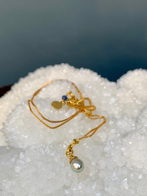Lisa Black Jewellery - Fine Pearl Empress Necklace - Handmade in Australia