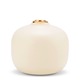 Aerin AERIN - Eloise Small Bud Vase - Ceramic with 18ct Gold Detail - 9x8.6cm - Italy