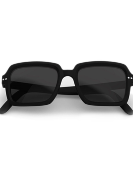 Until/See Concept Amiral by IZIPIZI Studio - Limited Edition Sunglasses - Black