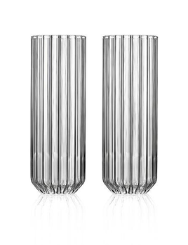 fferrone Fferrone Glassware - Dearborn Medium Collins Glass - 17cm - Set of 2