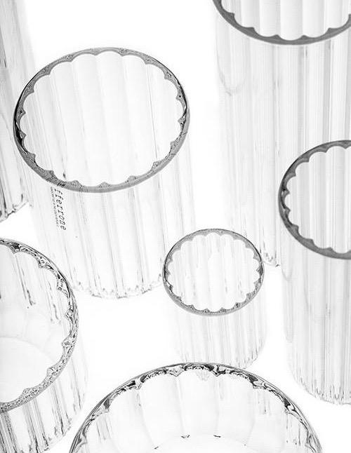 fferrone Fferrone Glassware - Dearborn Large Glass - 15cm - Set of 2