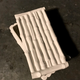 Home Ceramic Bamboo Box - Rectangular - Gloss White - 27x24cm