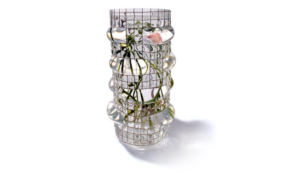 Vanessa Mitrani Creations Vanessa Mitrani - Aquarius Collection - GIANT Aquarium/Fish Tank or Vase - 55cm H - France