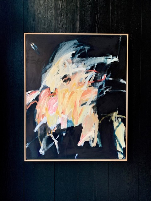 Electricity and Knowledge 2019 'Love' Series by Antonia Mrljak - Oil, Acrylic and Ink - 120x97.5cm